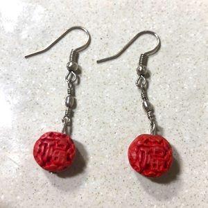 Traditional Luck Dangle Drop Hook Earrings